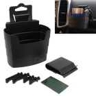 ZIQIAO French Fries Cup Holder Style Mobile Phone Storage Box - Black