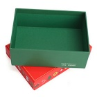 Christmas Gift Packaging Storage Box - Red (Small)