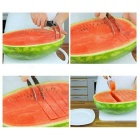 Multifunctional Stainless Steel Fruit Cutting Separator - Silver
