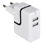 2.1W 2-Port USB Universal USB Travel Quick Wall Charger