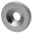 15 * 3mm Strong Round Hole NdFeB Magnets - Silver (50 PCS)