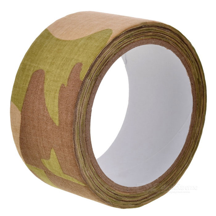 CTSmart 10m Thicken Duct Cloth Tape for Outdoor Sports - CP Camouflage