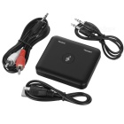 Wireless 2-in-1 bluetooth v4.1 receptor / transmissor de áudio - preto