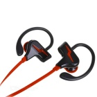 S30 Sports Stereo Sound Ear-hook Bluetooth V4.1 Earphone - Red + Black