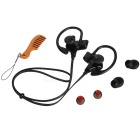 S30 Sports Stereo Sound Ear-koukku Bluetooth V4.1 kuuloke - musta