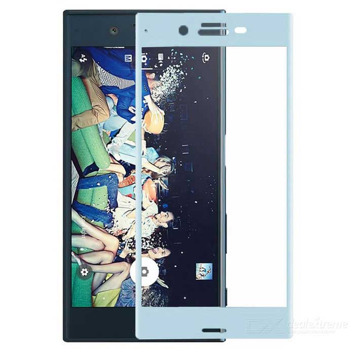 Tempered Glass Screen Protector for Sony Xperia XZ - Sky Blue