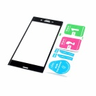 Tempered Glass Screen Protector For Sony Xperia XZ - Black