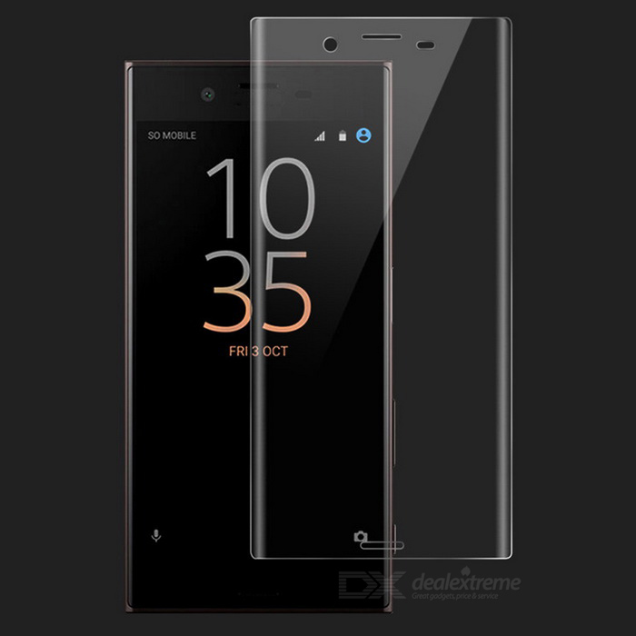 Tempered Glass Screen Protector For Sony Xperia XC - Transparent