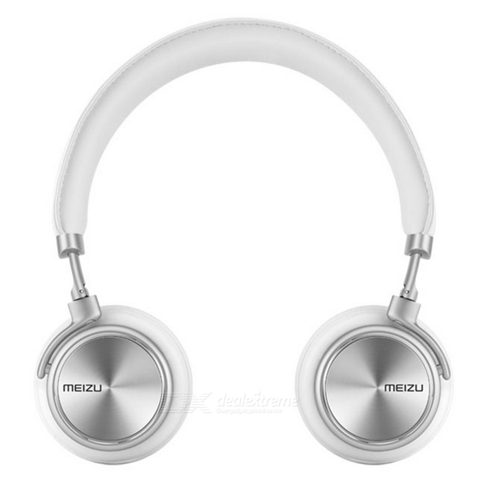 Original Meizu HD50 Hi-Fi On-Ear Wired Headphone - White