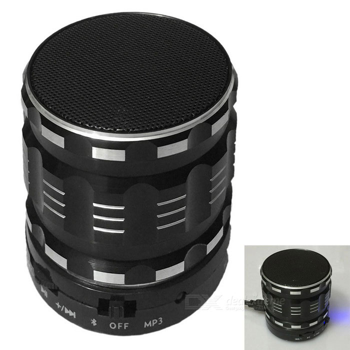 S28 Bluetooth Speaker Supports FM Radio / TF Card - Black + Silver