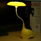 Youoklight 3-Mode dimmable 4-LED luz de mesa branca fria luz - amarelo