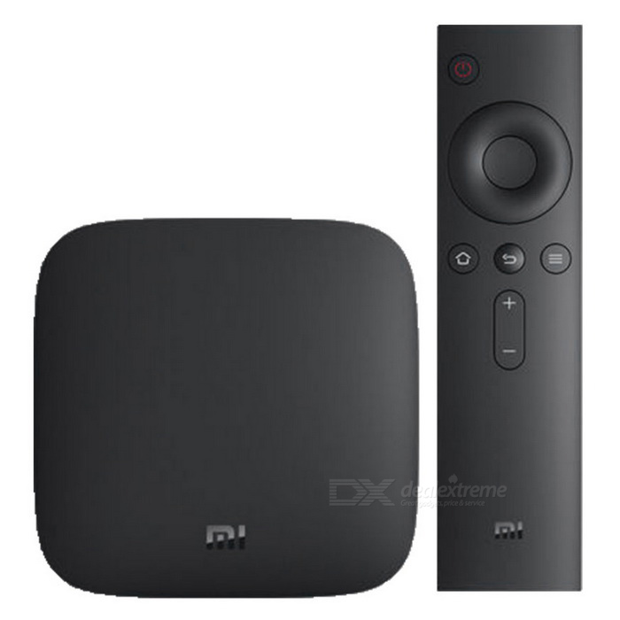 Original Xiaomi Mi Amlogic S905 Quad-Core Android 5.0 3C TV Box -Black