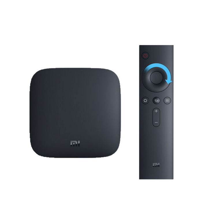 Original xiaomi mi 3S TV caja amlogic S905X quad-core - negro