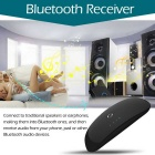 ZF-370 2-in-1 Wireless Bluetooth v3.0 Transmitter and Receiver - Black