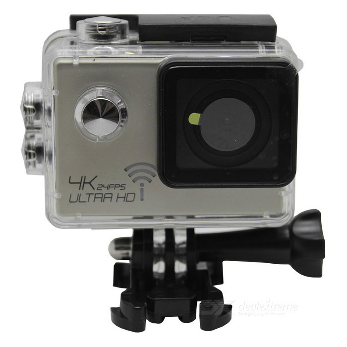 SJ9000 3X High Clear 4K 30fps Movement Wi-Fi Mini Sport Camera - Black