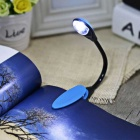 YouOKLight Eye Protection Clip Fixtures Mini LED Desk Light - Blue