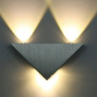 YouOKLight YK2228 3-LED 3W 240lm Triangle Wall Lamp Warm White Light