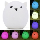 YouOKLight DC5V Colorful Cartoon Silica Gel LED Night Light - Cute Pig