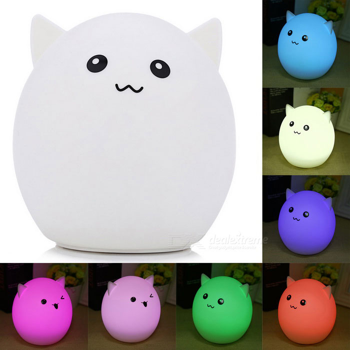 YouOKLight DC5V Colorful Cartoon Silica Gel LED Night Light - Elf Pig