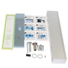 DV 12V Door Access Control System Electromagnetic Lock - Silver