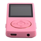 "1.8"" LCD música de vídeo digital MP3 MP4 player w / rádio FM - rosa (8GB)"