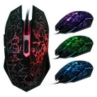 6-Key Version 1800DPI Colorful Backlit USB2.0 Wired Mouse