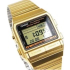 CASIO DB-380g-1 digital databank watch - guld (utan box)