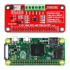 16 Bits ADS1115 ADC Module for Raspberry Pi 3B / 2B / B+ / Zero - Red