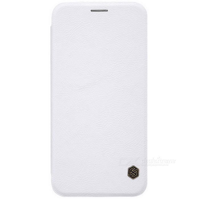NILLKIN QIN Series Protective PU + PC Case for Samsung A8 2016 - White