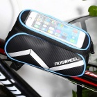 Outdoor Multi-function Bike Phone Touch-screen Package - Blue + Black