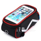 Outdoor Multi-function Bike Phone Touch-screen Package - Red + Black