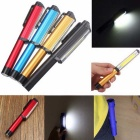 HESSION 3W COB Pen Shaped Light w/ Rotating Magnetic Clip (2 PCS)
