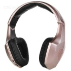 OVLENG S33 wireless bluetooth V4.1 auscultadores graves super - dourado