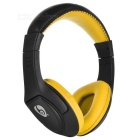 OVLENG MX333 Langaton Bluetooth Super Bass Headphone - Musta + Keltainen