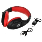 OVLENG MX333 Wireless Bluetooth Super Bass Headphone - Black + Red