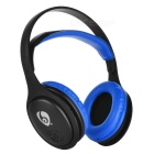OVLENG MX555 Wireless Bluetooth Super Bass Headphone - Black + Blue