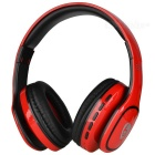 Long Standby Noise-Canceling Adjustable Bluetooth V4.1 Music Headband Headset w/ TF, Micro USB