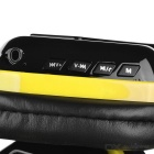 OVLENG MX222 Wireless Bluetooth Subwoofer Headphone - Black + Yellow
