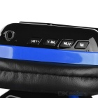 OVLENG MX222 Wireless Bluetooth Subwoofer Headphone - Black + Blue