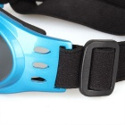 Pet Puppy Dog UV Protection PC Goggles Sunglasses Eyewear - Blue