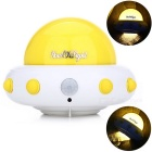YouOKLight YK2231 UFO Shaped Flying Saucer 5-LED Cool White Light Lamp