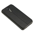 OCUBE PU Leather Case for UMI PLUS Mobile Phone - Black