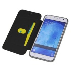 Flip Open PU Leather Case w/ Card Slots for Samsung Galaxy J3 (2016)