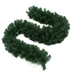 2.7 Meters PVC Rattan for Christmas Decoration Bar Mall KTV - Green