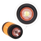 Ultrafire USB Rechargeable Plastic LED Flashlight - Black + Orange