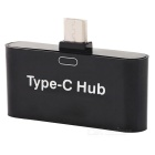 USB 3.1 Type C to 2 USB OTG Hub Adapter Convertor for Smart Phone / Computer