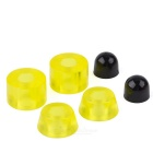 BTC03 90A PU Busing Skateboard Shock Pad - Transluent Yellow (4 PCS)