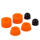 BTC03 85A PU Skateboard Longboard Shock Pad - Orange (4 PCS)