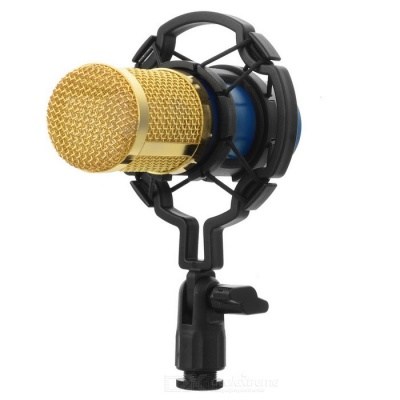JEDX BM800 Professional Condenser Sound Microphone w/ Anti-Shack Mount