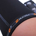 NUCKILY Leg Knee Sleeve Pad for Outdoor Sports Riding - Black / M Size